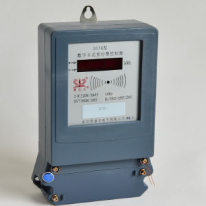Three Phase Four Wires Electric Meter with Multi Tariff pictures & photos