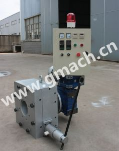 Plastic Recycling Granulator Use Scraper Type Melt Filter pictures & photos