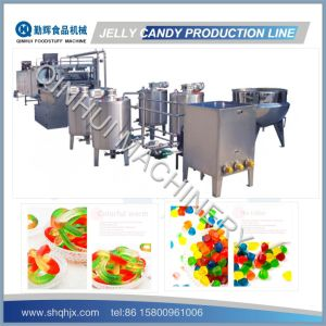 Newly Designed Depositing Type Jelly Candy Production Line pictures & photos