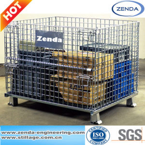 Wire Mesh Cage / Storage Wire Mesh Container pictures & photos