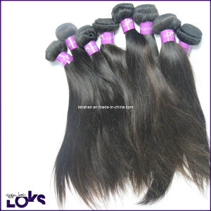Great Quality Natural Color Unprocessed Virgin Indian Hair Weft