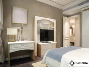 Modern Italy Home Bedroom Hotel Furniture Wood Closets Wardrobe pictures & photos