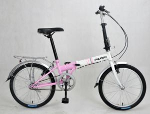 Beautiful Single Speed Folding Bicycles (FP-FDB-D002) pictures & photos