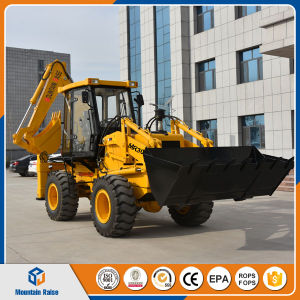 Chinese Cheap Backhoe Laoder Mini Excavator Bagger pictures & photos