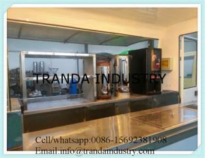 Large Scale Overseas Catering Kiosk Multifunctional Coffee Booth Truck pictures & photos