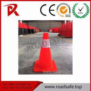 Roadsafe PVC Traffic Barricade Cone Safety Barrier Retractable Reflective Traffic Cone pictures & photos