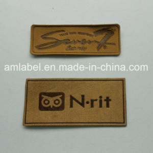 Brown Leather Patches for Jeans (AMLP2014006)