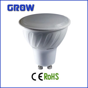 5W GU10 Plastic Plus Aluminum LED Spotlight pictures & photos