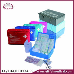Medical Auto Car Vehicle DIN13164-2014 First Aid Kit with Efk409 pictures & photos