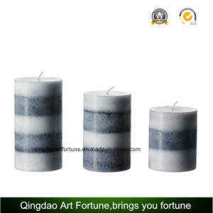 Aroma Layed Handmade Candle for Decoration Manufacturer pictures & photos