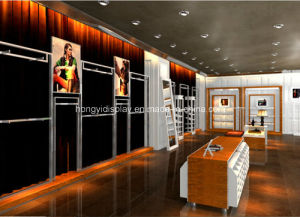 Female Clothes Shopfitting, Garment Shop Interior Decoration pictures & photos