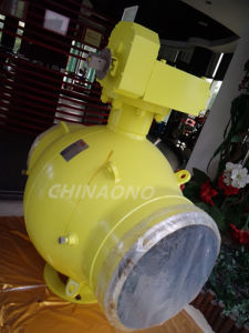 API Stainless Steel Electric Weld Large Size Ball Valve pictures & photos