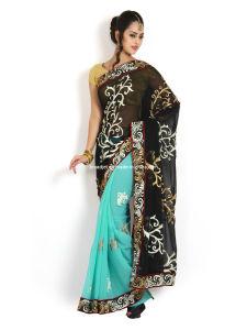 Embroidered Fashion Saree (2502)