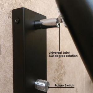 Modern 360 Degree Rotation Universal Head Metal Tube 3W LED Bedroom Wall Lamp pictures & photos