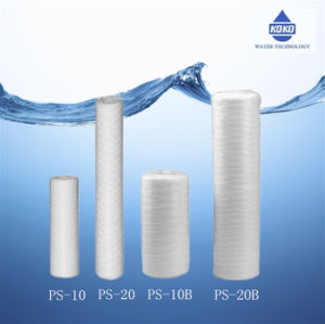 Home Household Water Filter Cartridge PS-10 PS-20 Particles Dust Remove pictures & photos