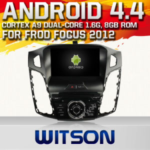 Witson Android 4.4 Car DVD for Frod Focus 2012 with A9 Chipset 1080P 8g ROM WiFi 3G Internet DVR Support pictures & photos