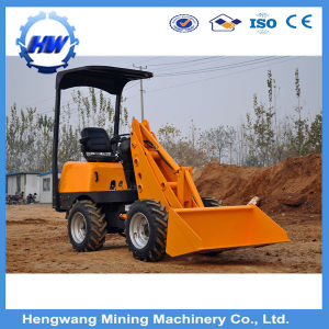 Construction Machinery Chinese Wheel Loader Digger Skid Steer Mini Loader pictures & photos