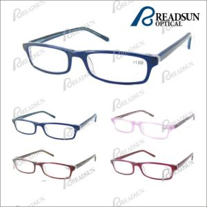 Slim Hand Made High Grade Acetate Reading Glasses, Reading Eyewear (RA287002) pictures & photos