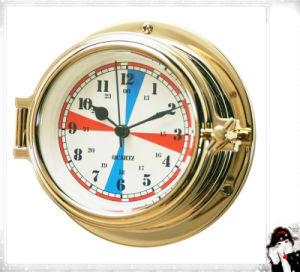 Nautical Radio Room Clock 12 Hours Dial 150mm Waterproof pictures & photos