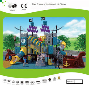 Kaiqi Large Multi-Level Pirate Ship Themed Children′s Playground (KQ30115A) pictures & photos