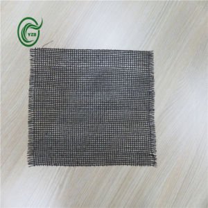 Sb3210 Woven Fabric PP Secondary Backing for Carpet (Black) pictures & photos