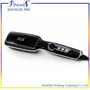 Hot Straitening Brush LED Temperature Display Comb Straightener pictures & photos