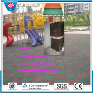 Gym Flooring Mat Rubber Factory Direct Outdoor Rubber Tile Wearing-Resistant Rubber Tile pictures & photos