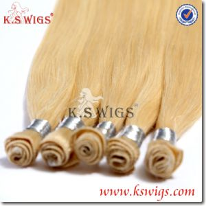 Good Quality Virgin Remy Hair Hand Tie Human Hair pictures & photos