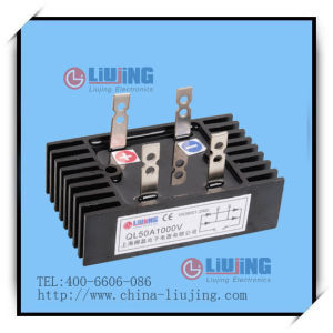 Single Phase Bridge Diode Bridge Rectifier Ql50A pictures & photos