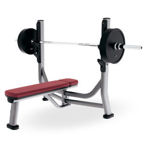 Gym Fitness Equipment Olympic Flat Bench Machine pictures & photos
