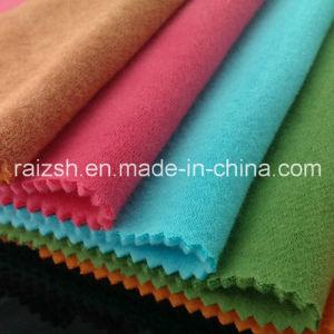 CVC Fleece Double Fabric Plus Thick Velvet Sweater Fleece Fabric pictures & photos