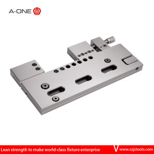 Manual Adjustable Steel Precision Wire-Cut Vise pictures & photos
