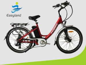 Easyland 26 Inch Electric City Bike with Lithium Battery pictures & photos