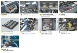 Combination Paper Folding Machine with Electric Control Knife (490) pictures & photos