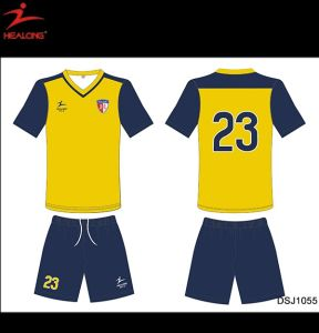 Sublimated Soccer Jersey Custom Football Shirt Sport Wear pictures & photos