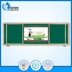 Magnetic Green Sliding Blackboard/Chalkboard with LCD pictures & photos