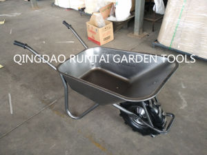 Qingdao Made Cheapest Strong Durable Wheel Barrow (WB6404h) pictures & photos
