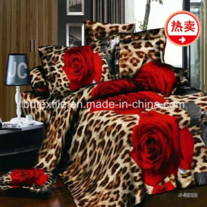 70GSM 100% Polyester Printed Microfiber Brushed Two Sides Fabric pictures & photos