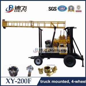 200m Depth Water Well Drill Rig for Soil, Gravel, Rocks pictures & photos