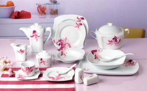 Windmill Dinnerware Set, Porcelain Dinnerware Set (JC5W019)