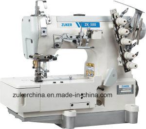 Zuker High Speed Pegasus Flat-Bed Big Stitch Length Interlock Sewing Machine (ZK 500-01CB)