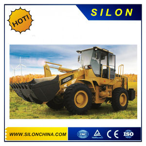 Lovol FL955f-II Wheel Loader with Anti-Skid Chain pictures & photos
