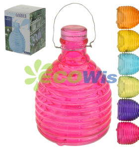 Glass Hanging Wasp Trap China Manufacturer (HT4610) pictures & photos