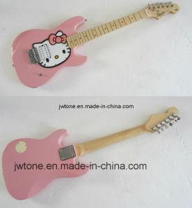 Cartoon Cat Body Top Pickguard Popular Children Electric Guitar pictures & photos