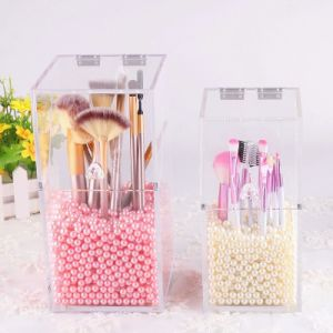 Customized Design Clear Acrylic Makeup Brush Holder pictures & photos