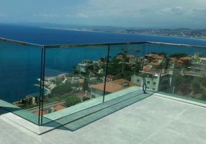 Safety Toughened Laminated Glass Railing pictures & photos
