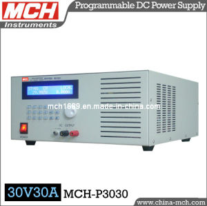 900W 30V 30A Programmable DC Power Supply with CE & RoHS (MCH-P3030)