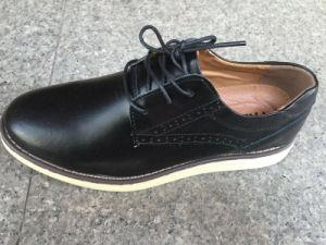 Latest High Quality Men′s Leather Shoes Fashion Shoes (LZ6) pictures & photos