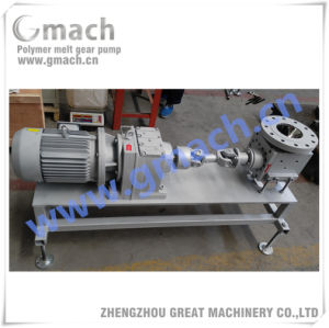 Discharge Melt Gear Pump for PP Polymer Reactor pictures & photos