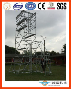 Galvanized Steel Scaffolding Ringlock Tower with Top Quality pictures & photos